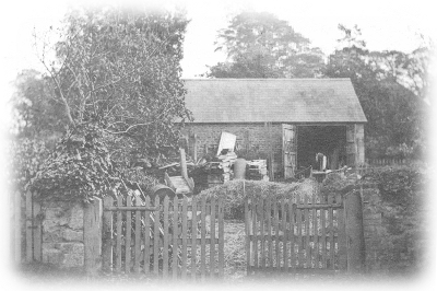 Carpenter's workshop alongside Tree Cottage