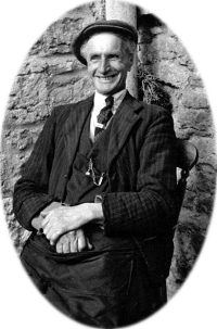 Harry Adams, gardener to the Buchan family